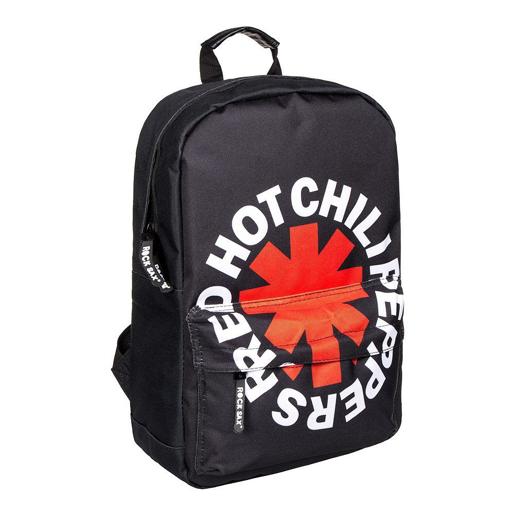 Rocksax X Red Hot Chili Peppers Logo Backpack (Black)