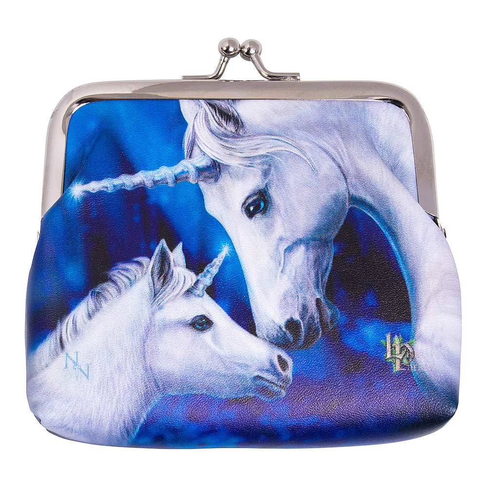 Nemesis Now Sacred Love Unicorn Coin Purse (Blue)