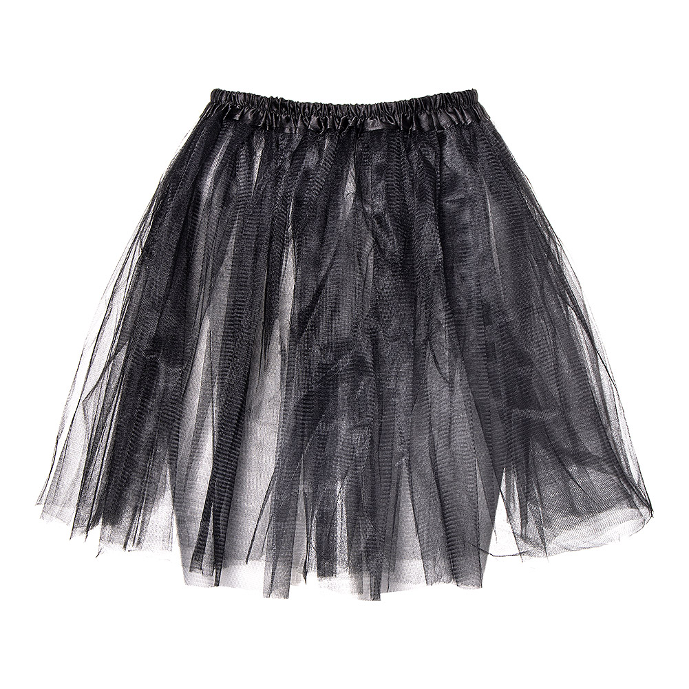 Blue Banana Short Black Petticoat (45cm)