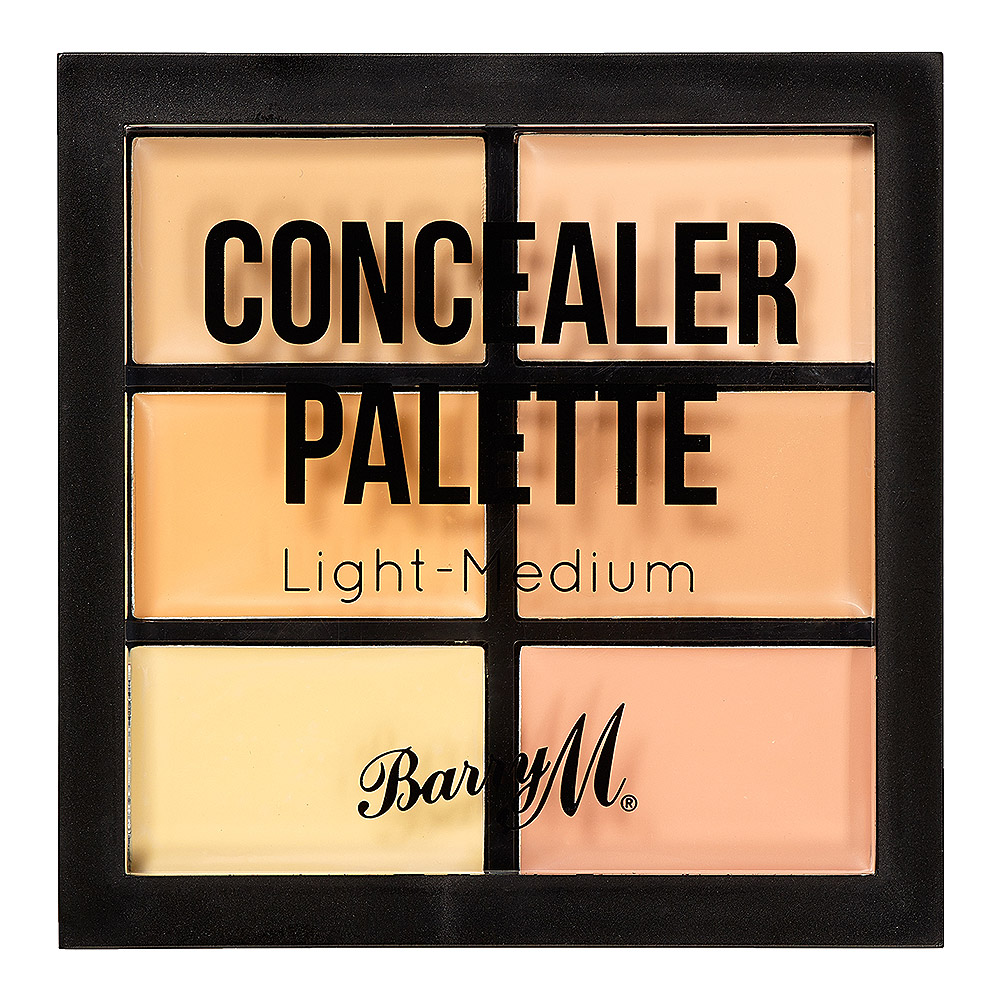 Barry M Concealer Palette (Light - Medium Tan)