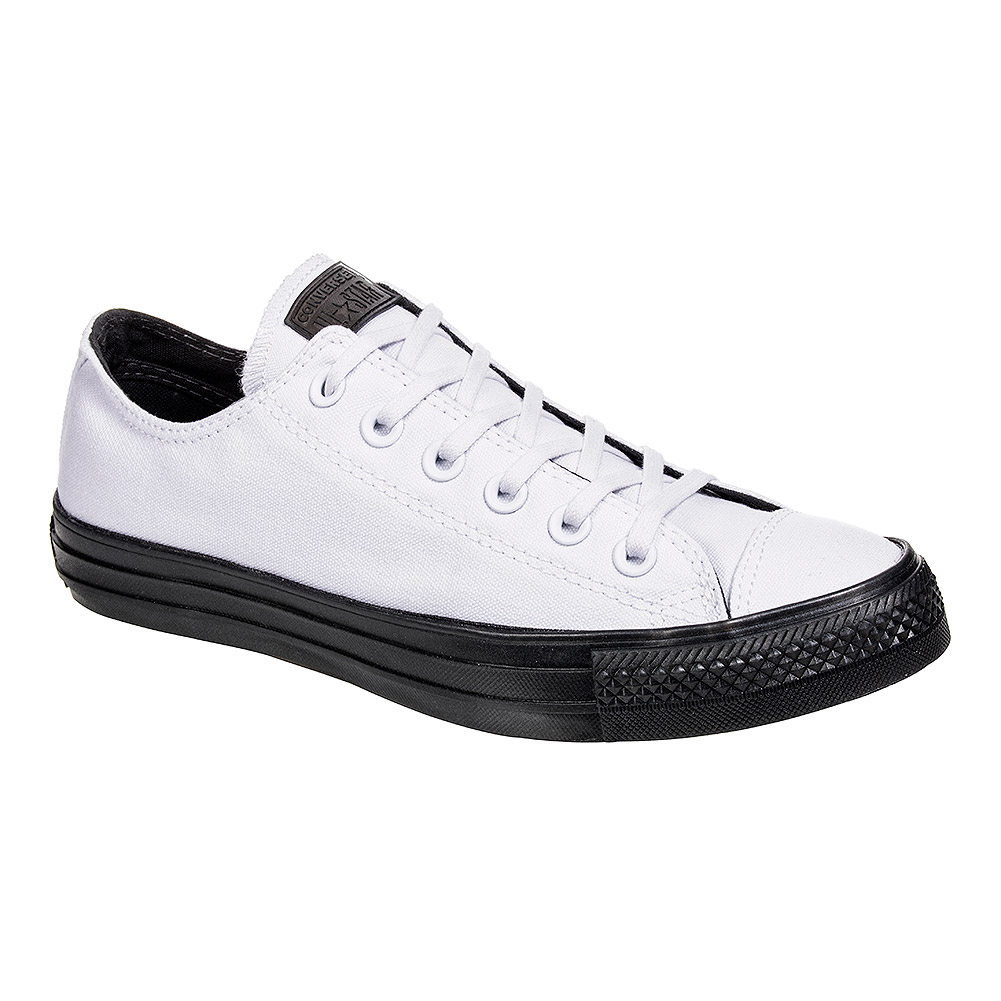 fae05d374c53 Converse White Almost Black Shoes