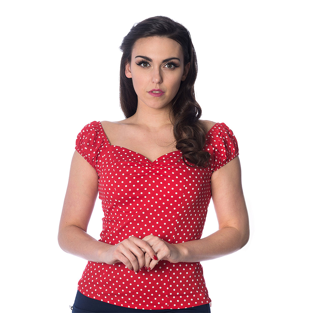 Banned I Carried A Watermelon Retro Top (Red)