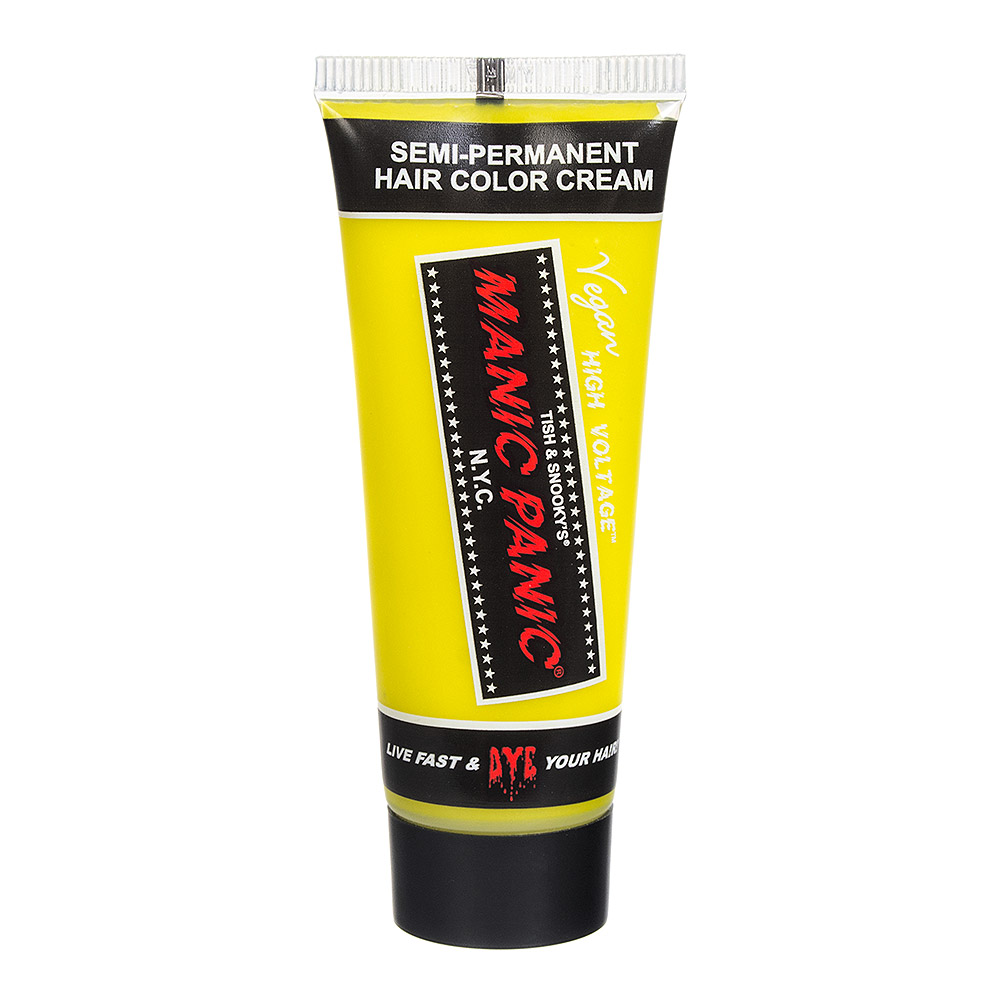 Manic Panic High Voltage Classic Cream Mini Hair Dye 25ml (Electric Banana)
