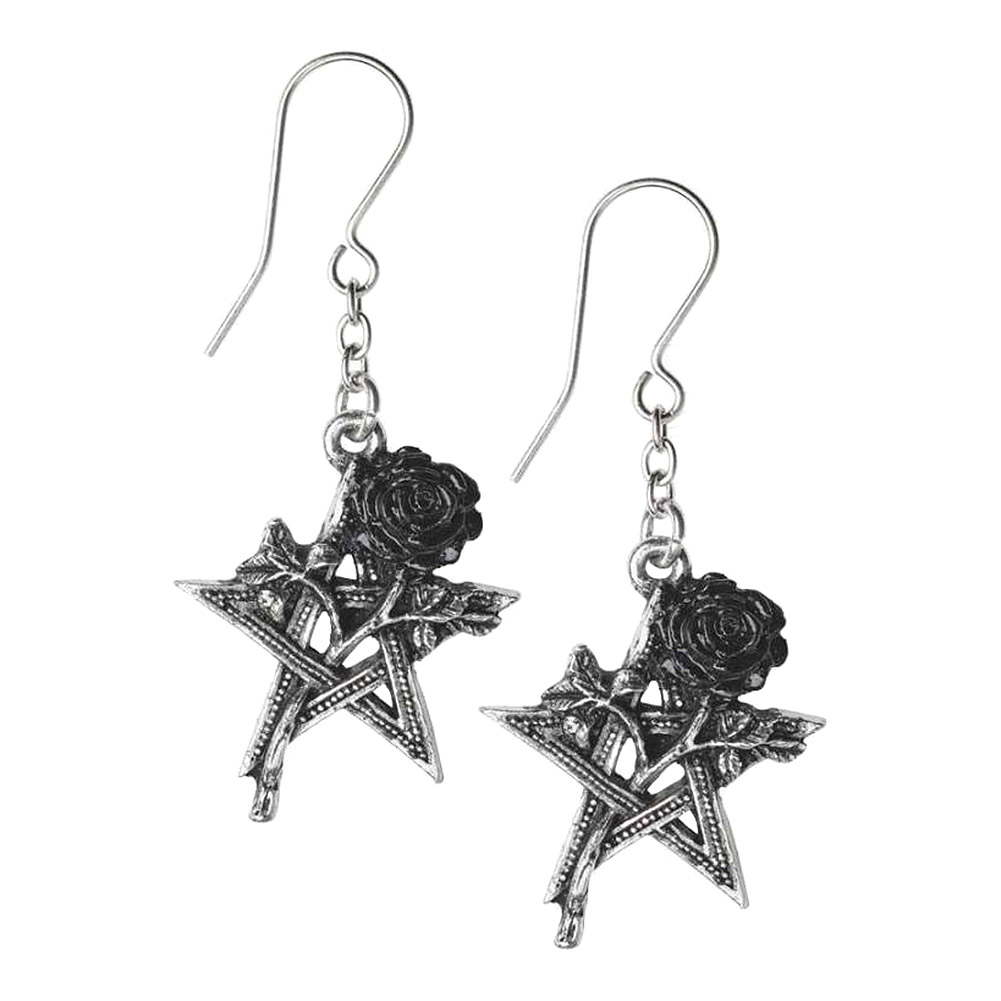 Alchemy Gothic Ruah Vered Earrings (Silver)