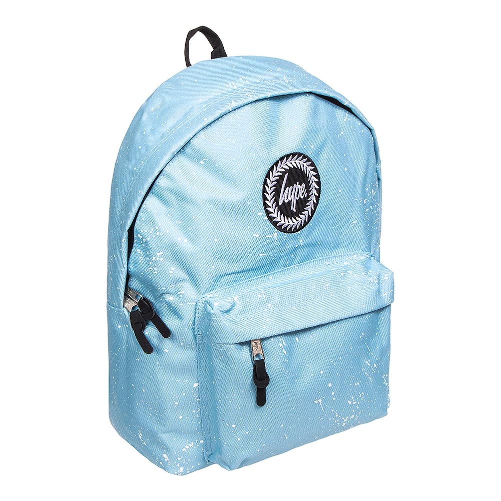 b540f58cf6 Hype Baby Blue White Speckle Backpack