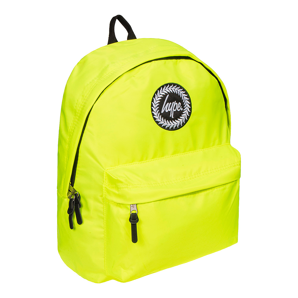 Hype Fluorescent Backpack (Yellow)