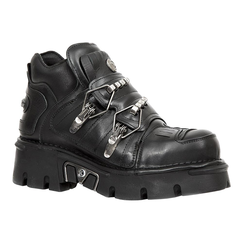 New Rock M.211-S1 Reactor Platform Shoes (Black)