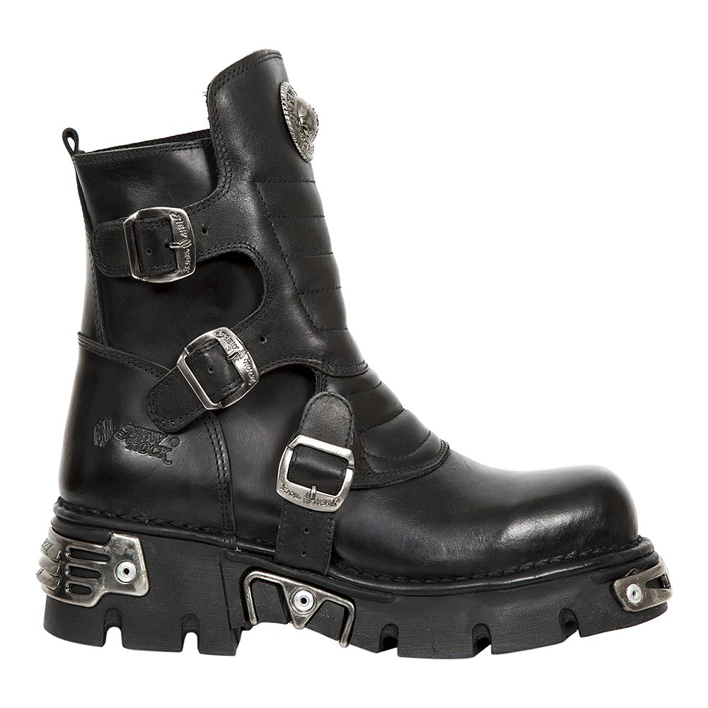 New Rock M.1482X-S1 Reactor Half Boots (Black)