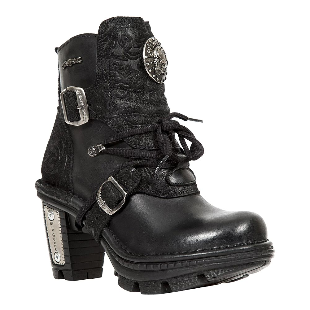 New Rock M.NEOTR061-S1 Neo Trail Ankle Boots (Black)