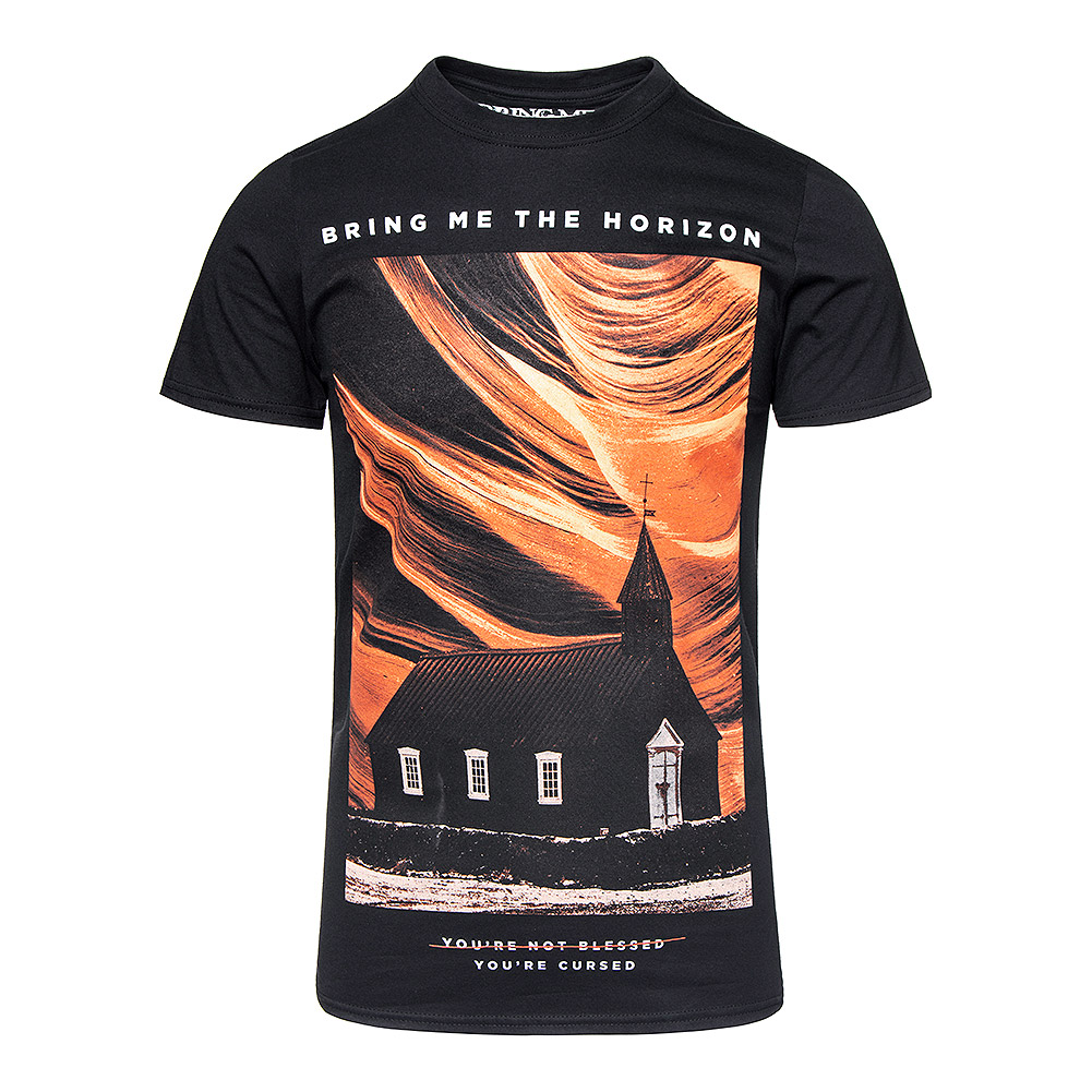 Official Bring Me The Horizon You're Cursed T Shirt (Black)