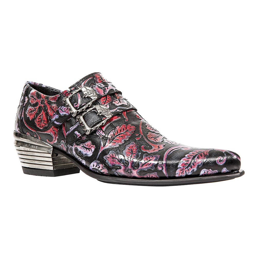 New Rock M.7960-S6 Dallas Vintage America Shoes (Multicoloured)