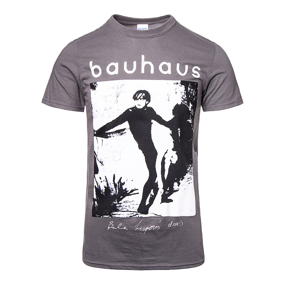 Official Bauhaus Bela Lugosi's Dead T Shirt (Grey)
