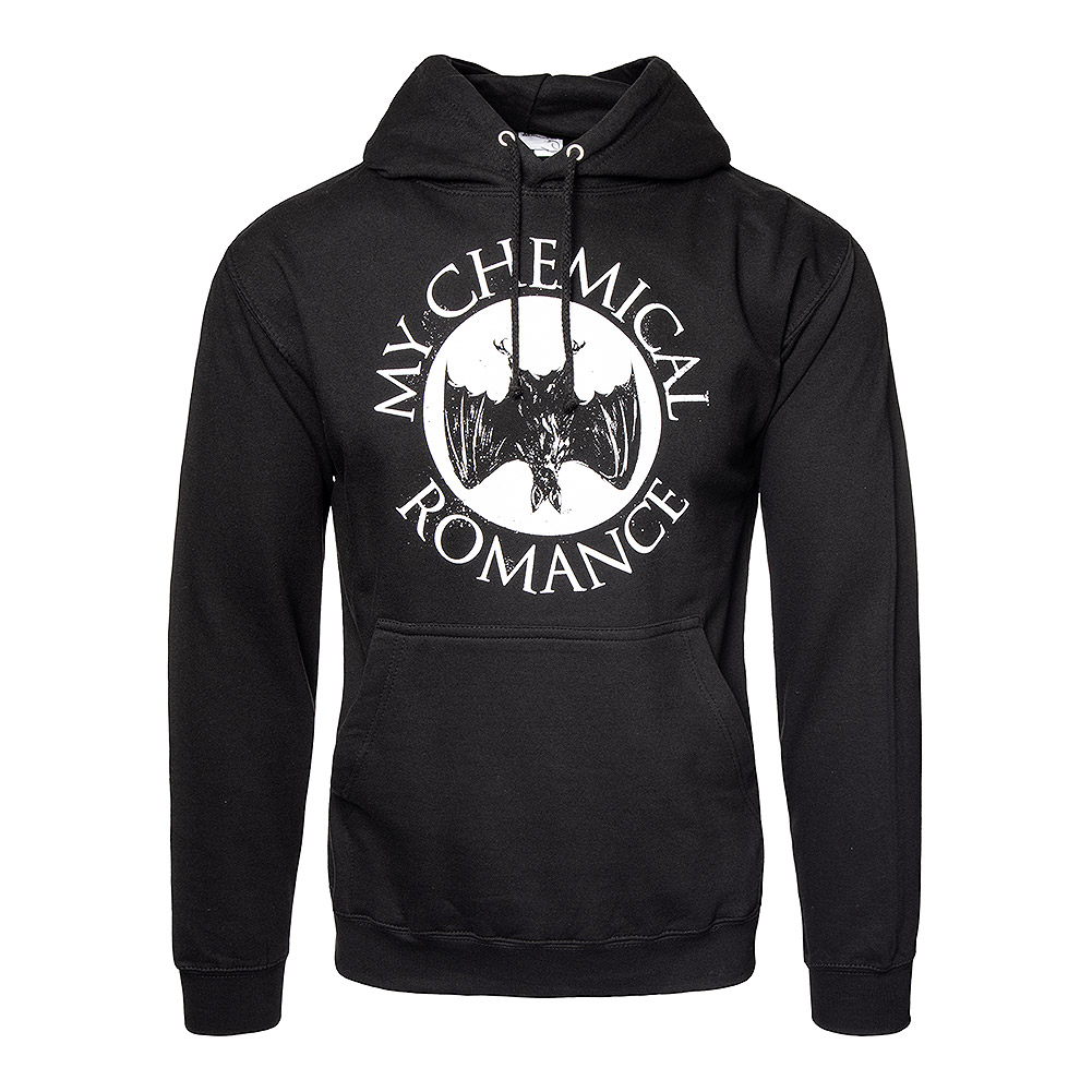 Official My Chemical Romance Bat Hoodie (Black)