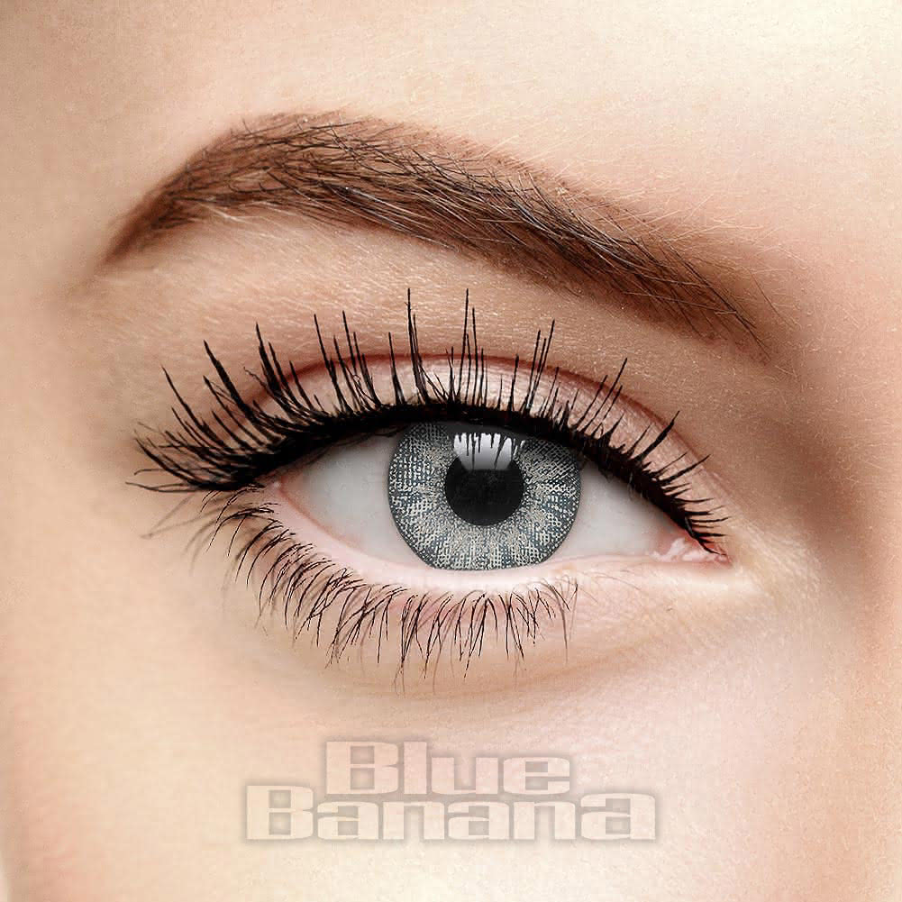 Storm Cloud 90 Day Coloured Contact Lenses (Grey)
