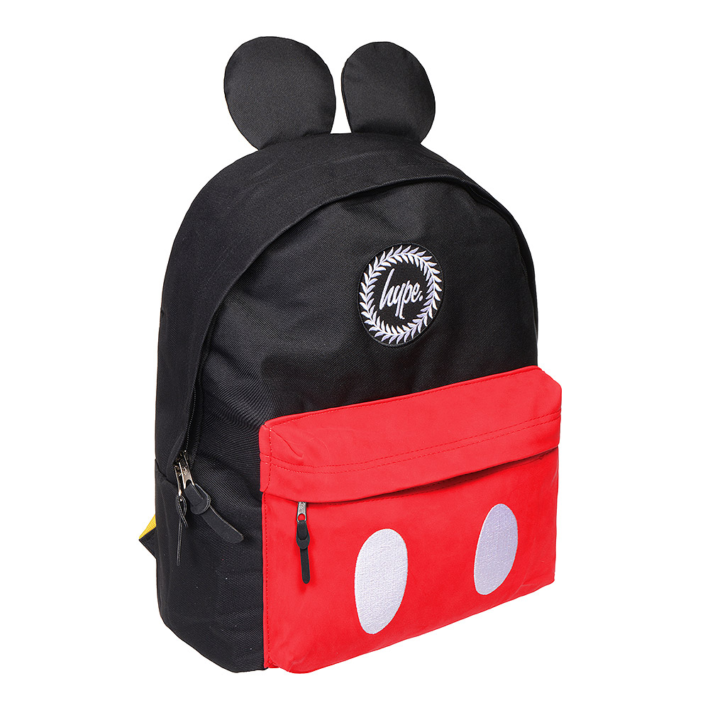 Hype Disney Mickey Mouse Black Red Backpack 929cb657f4113