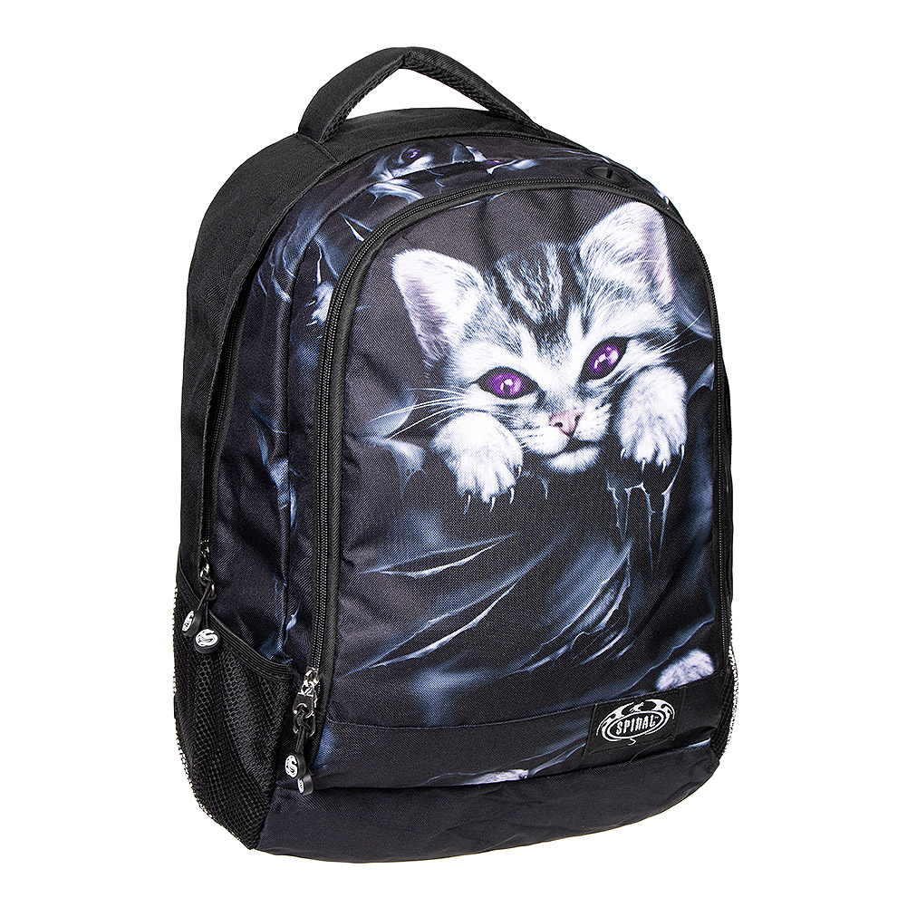 Spiral Direct Bright Eyes Rucksack (Schwarz)