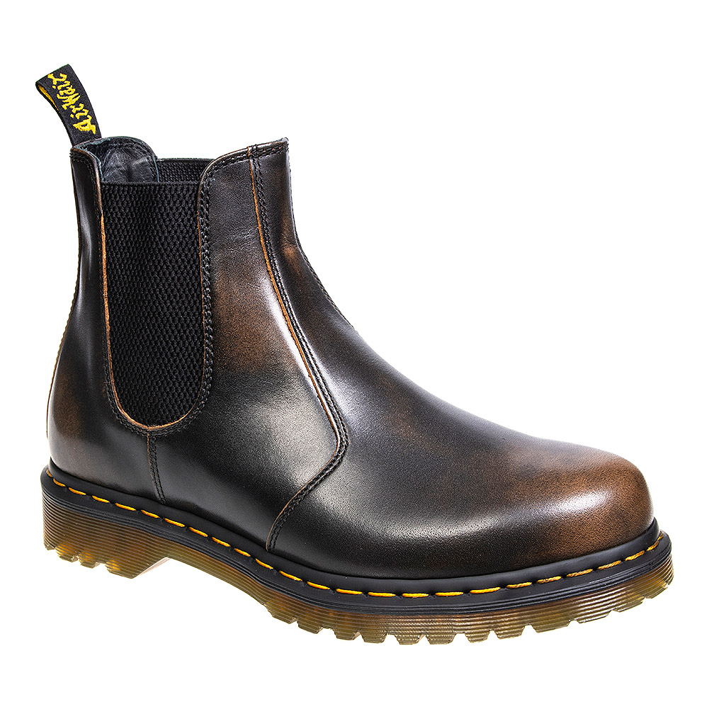 f5bc143bf0c2 Dr Martens 2976 Butterscotch Vintage Boots, Chelsea Ankle Boots