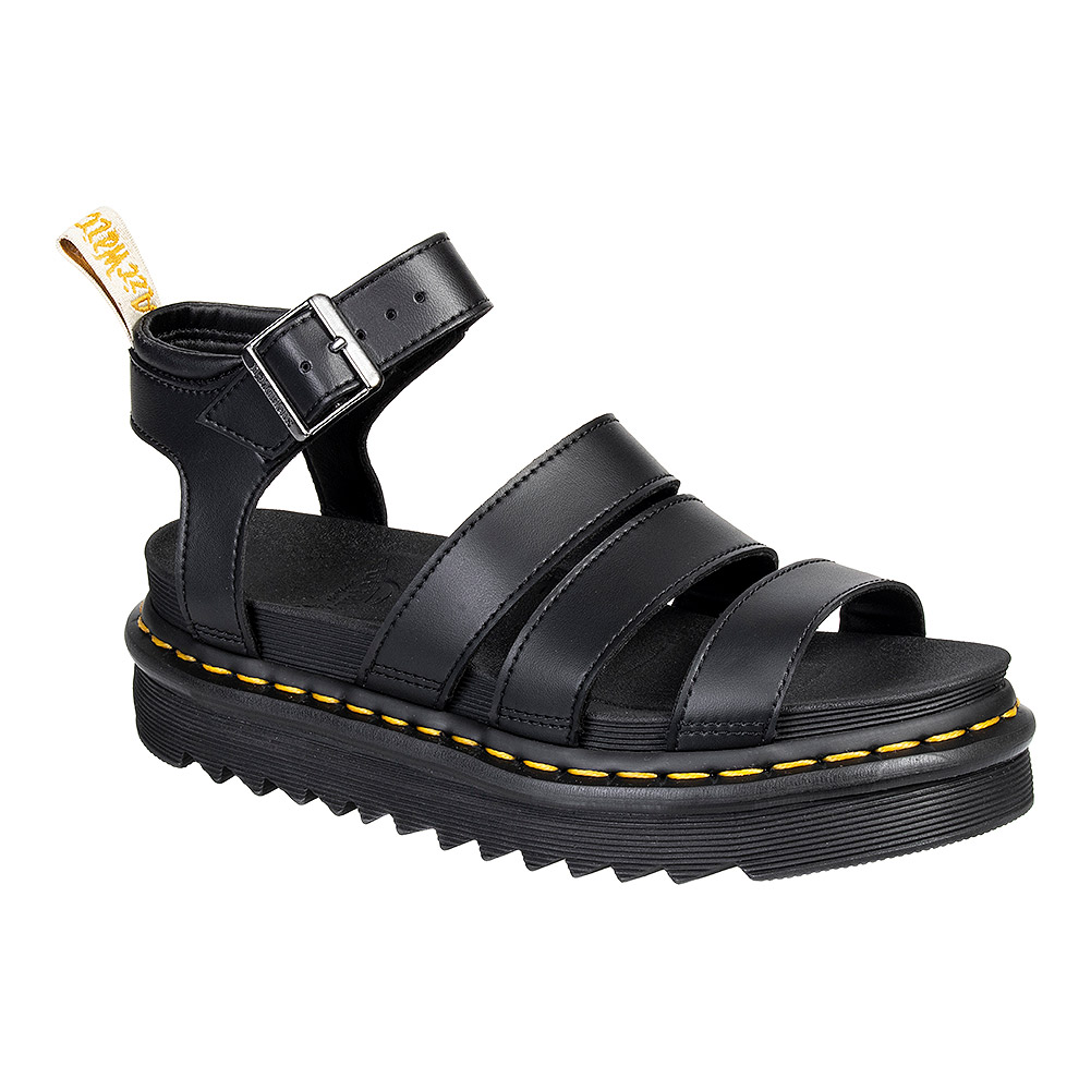a977c1c1b1e Dr Martens Vegan Blaire Felix Rub Off Black Sandals