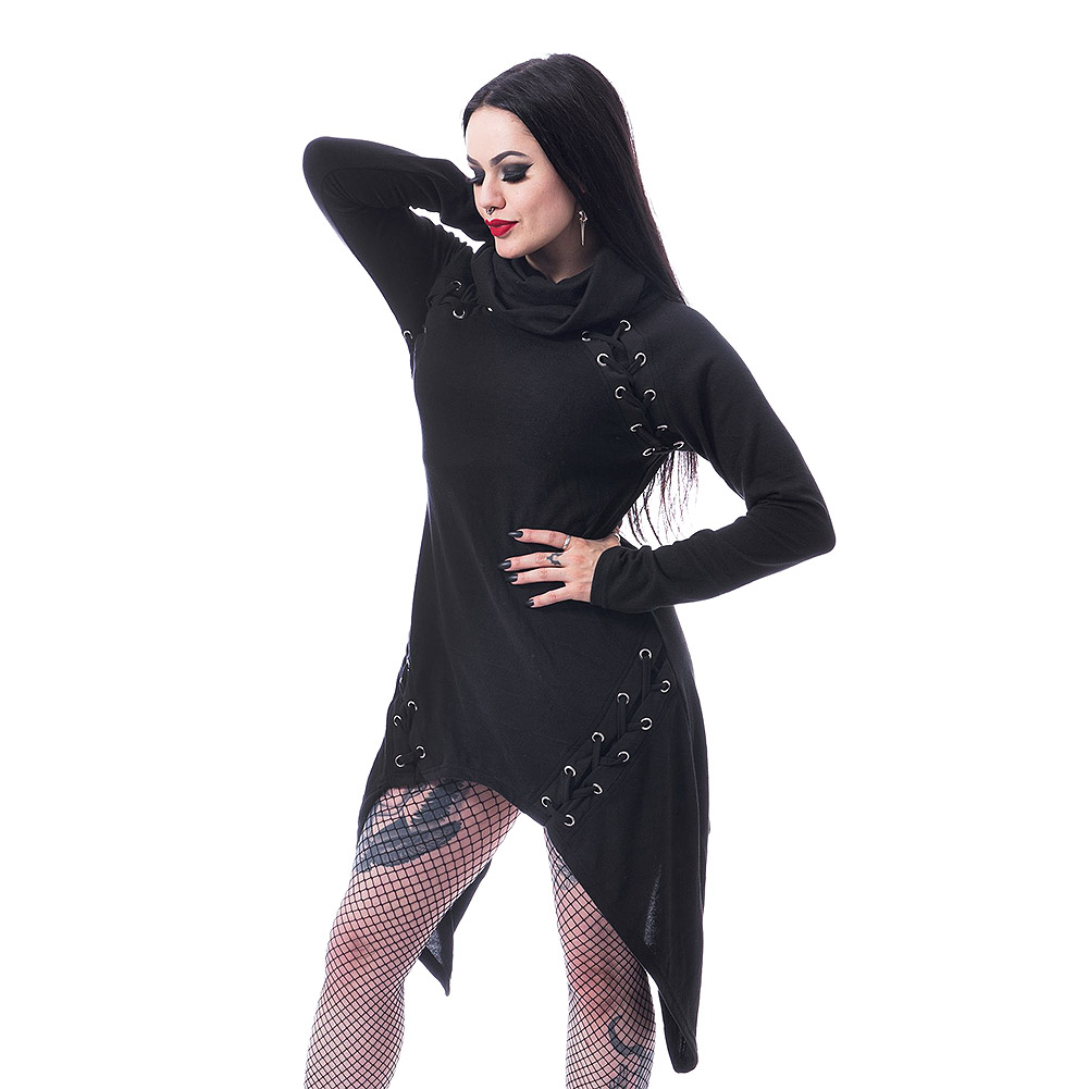Poizen Industries Hazard Gothic Dress (Black)