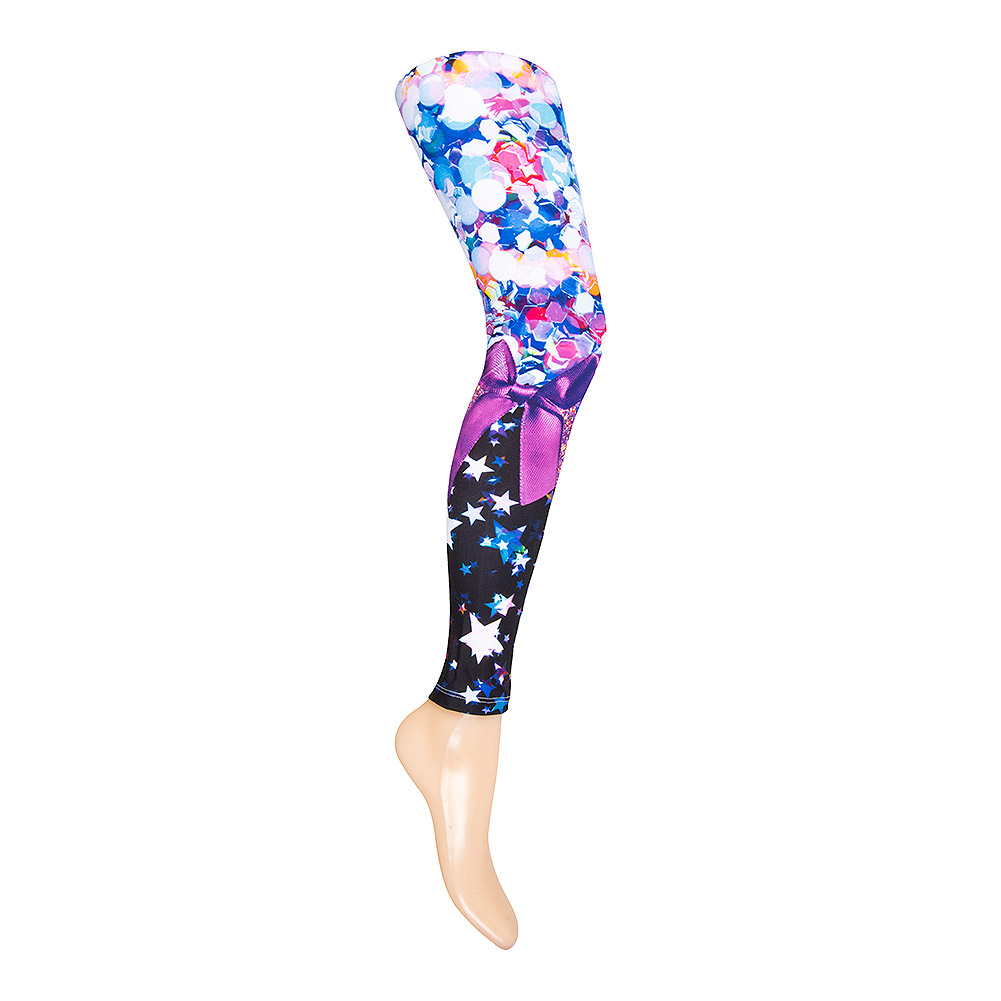 KukuBird Glitter Leggings (Multicoloured)