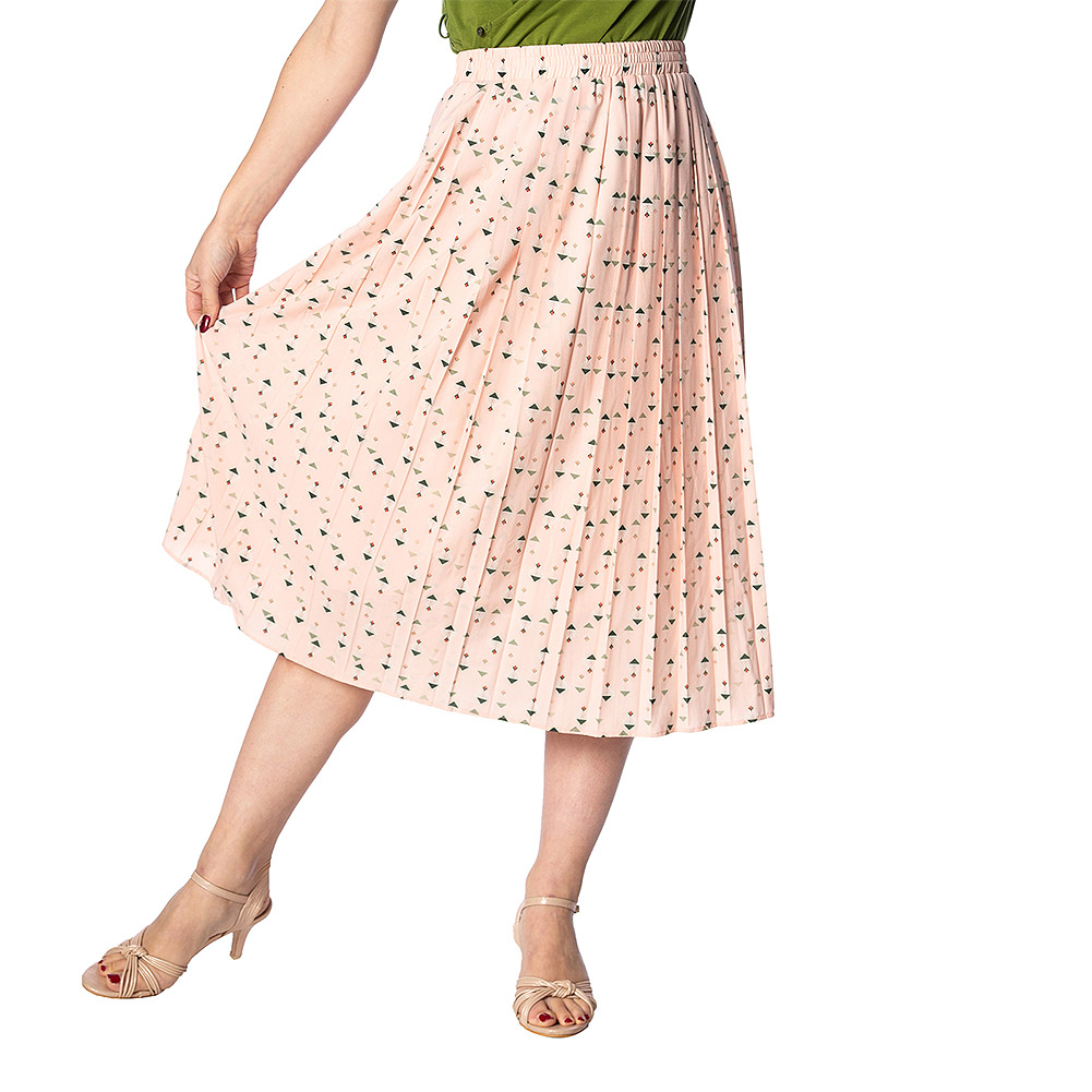 Banned Geo Skirt (Pink)