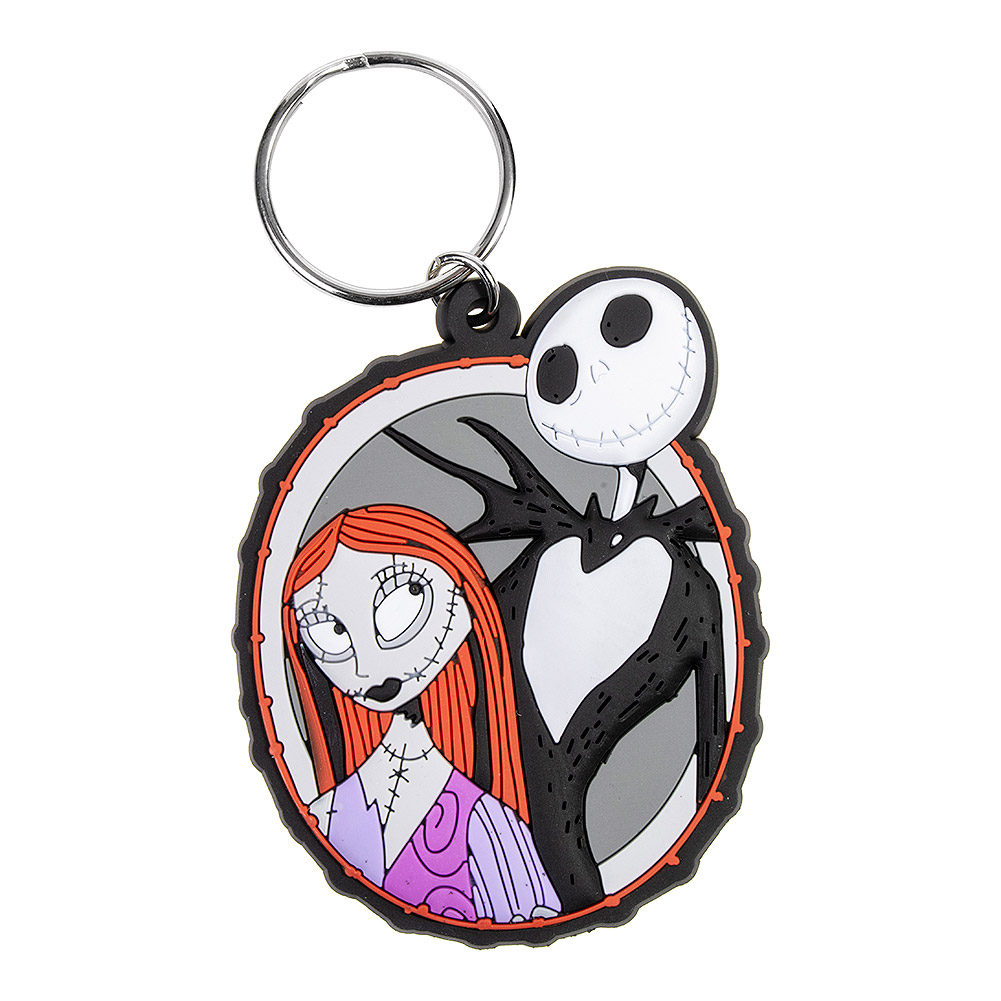 Nightmare Before Christmas Jack & Sally Keyring, NbX 25 Year Gifts