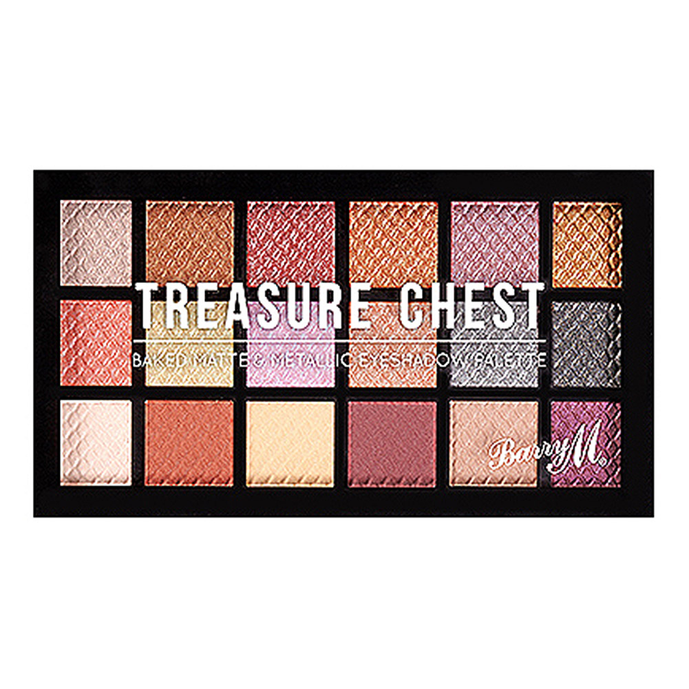 Barry M Baked Eyeshadow Palette (Treasure Chest)