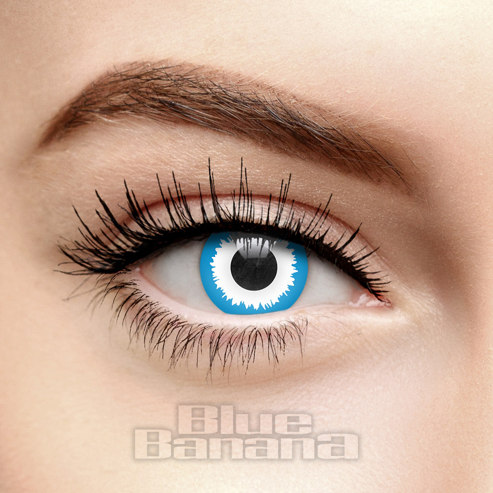 Elf 30 Day Coloured Contact Lenses (Blue)