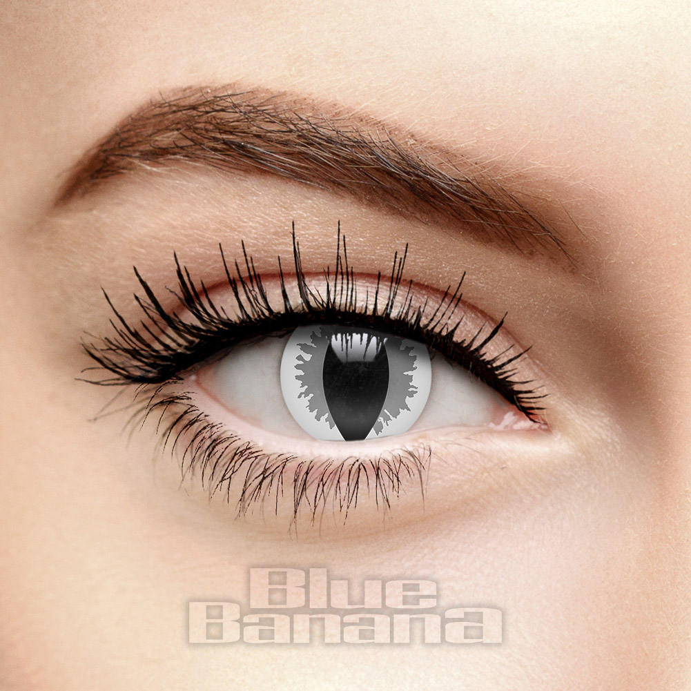 Mist Dragon 30 Day Coloured Contact Lenses (Grey)