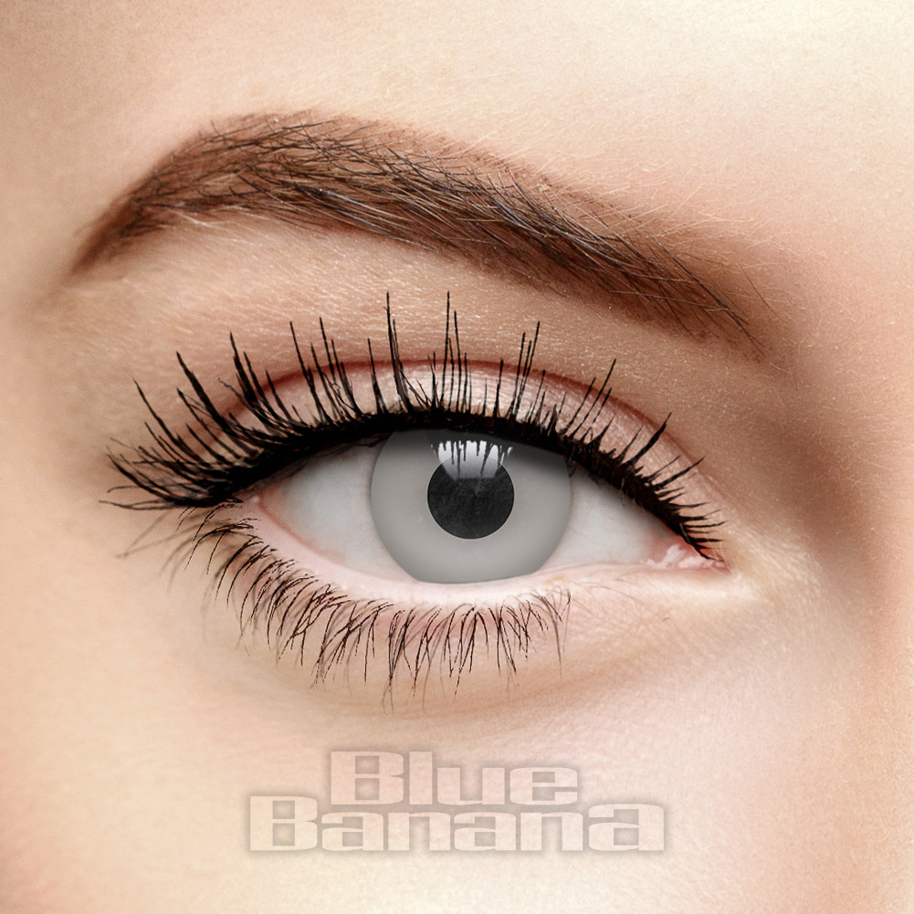 Undead 30 Day Coloured Contact Lenses (Grey)