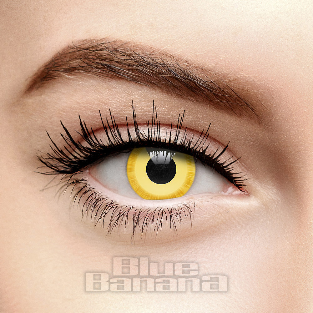 Avatar 1 Day Coloured Contact Lenses (Yellow)