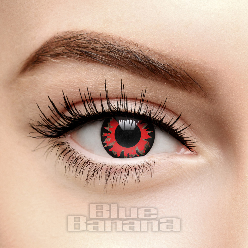 Twilight Volturi 1 Day Coloured Contact Lenses (Red)
