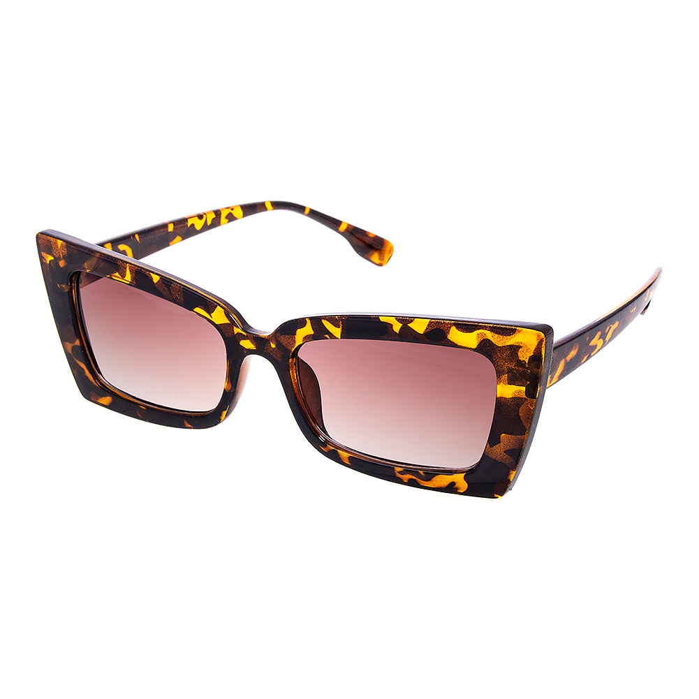 Blue Banana Leopard Sunglasses (Brown)
