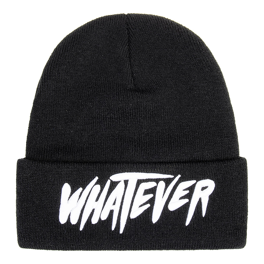 Blue Banana Whatever Beanie Hat (Black)