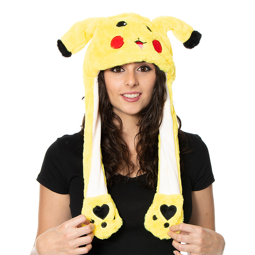 Blue Banana Moving Ear Monster Hat (Yellow)