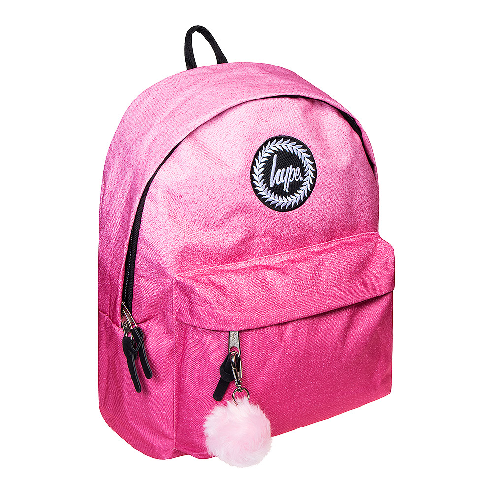 Hype Speckle Fade Rucksack (Pink)
