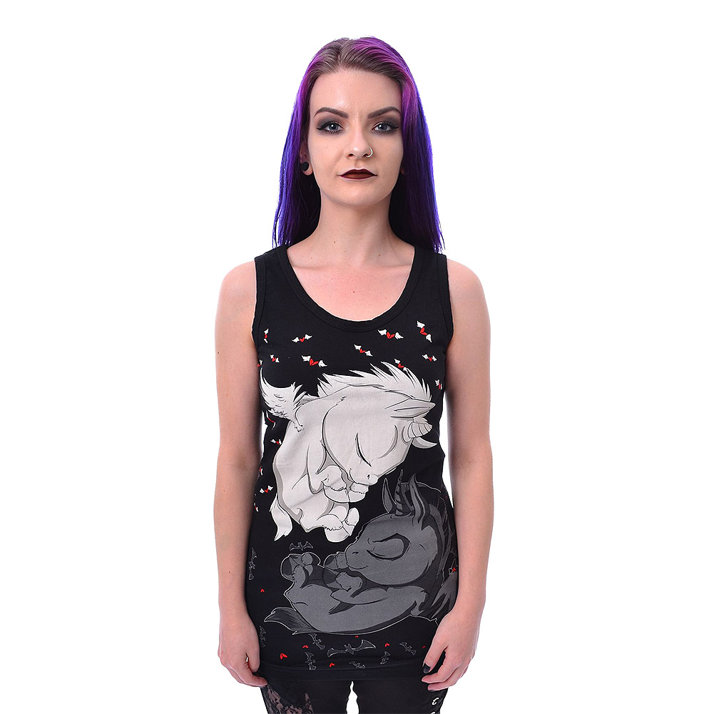 Cupcake Cult Dream Unicorn Vest (Black)