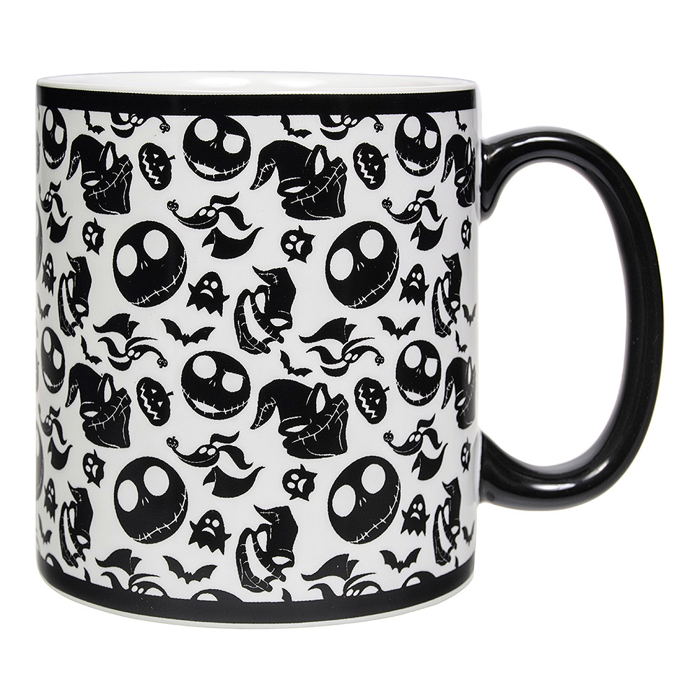 Nightmare Before Christmas Images Black And White.Nightmare Before Christmas Oogie Zero Jack Mug