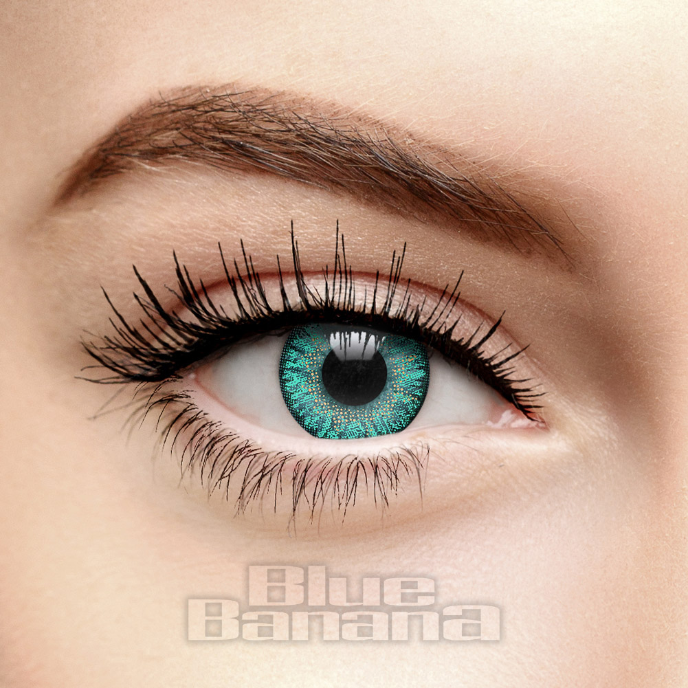 Natural Blend Daily 10 Pack Coloured Contact Lenses (Emerald)