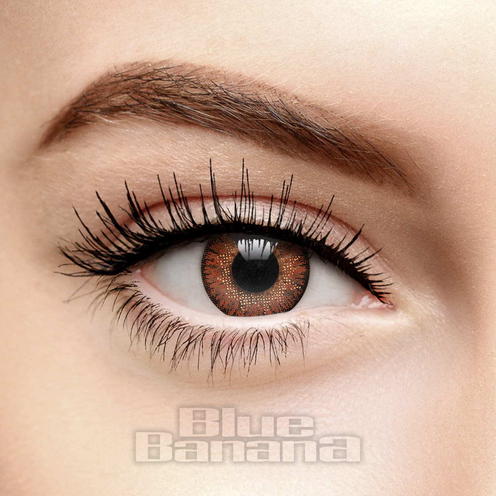 Natural Blend 30 Day Coloured Contact Lenses (Hazel)