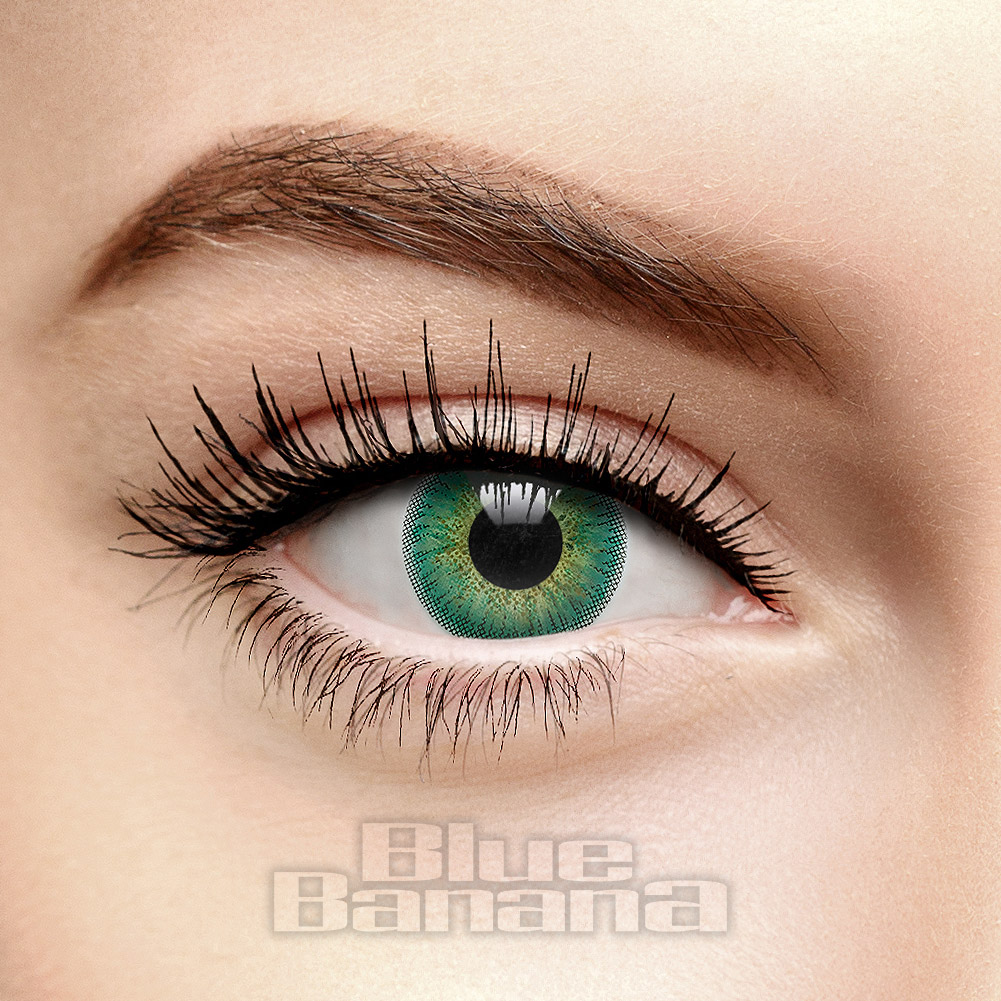 Natural Blend 30 Day Coloured Contact Lenses (Emerald)