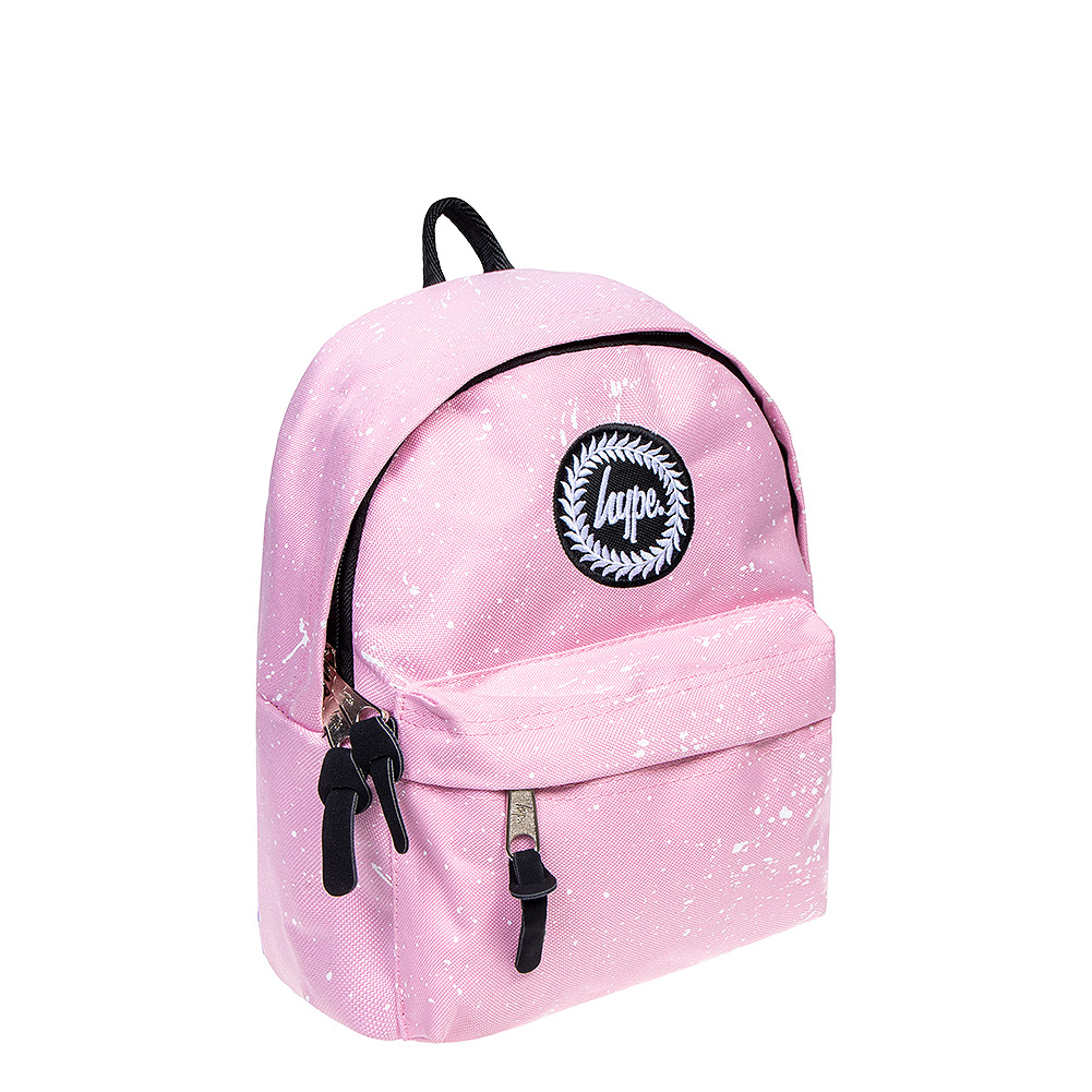 Hype Speckle Mini Backpack (Pink/White)