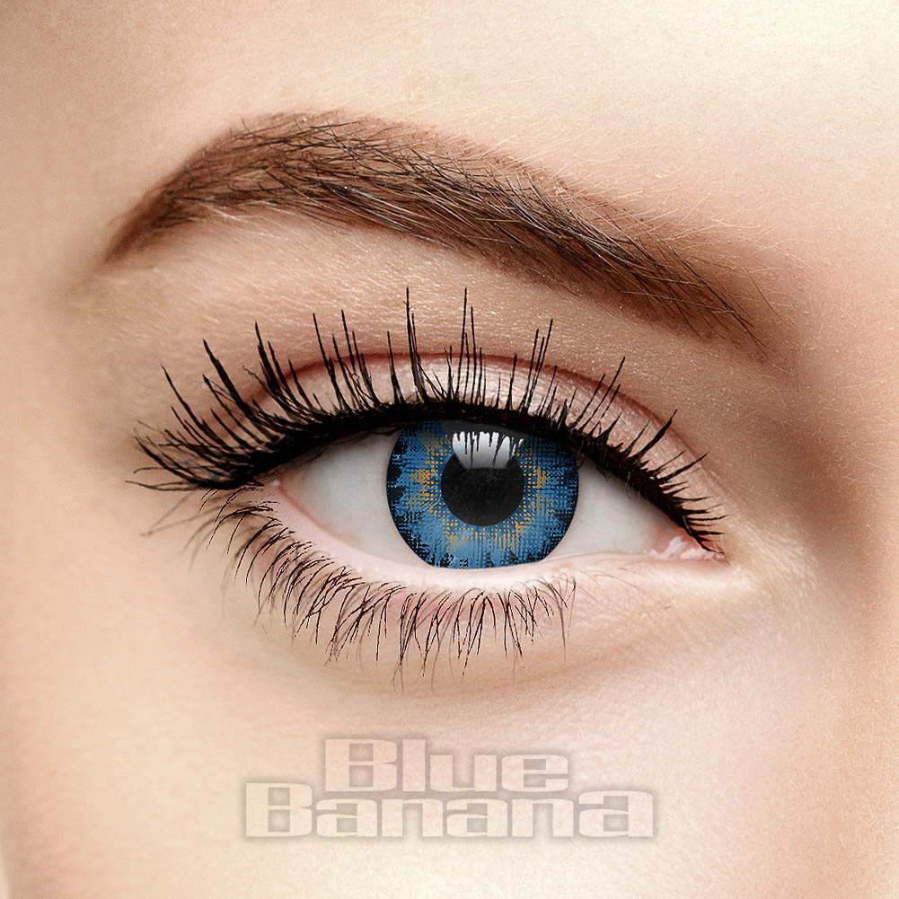 Air Optix Prescription 30 Day Coloured Contact Lenses (Blue)