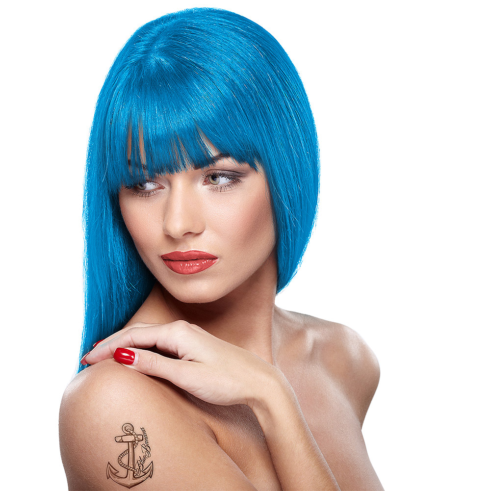 Headshot Semi-Permanent Hair Dye 150ml (Desaster Blue)