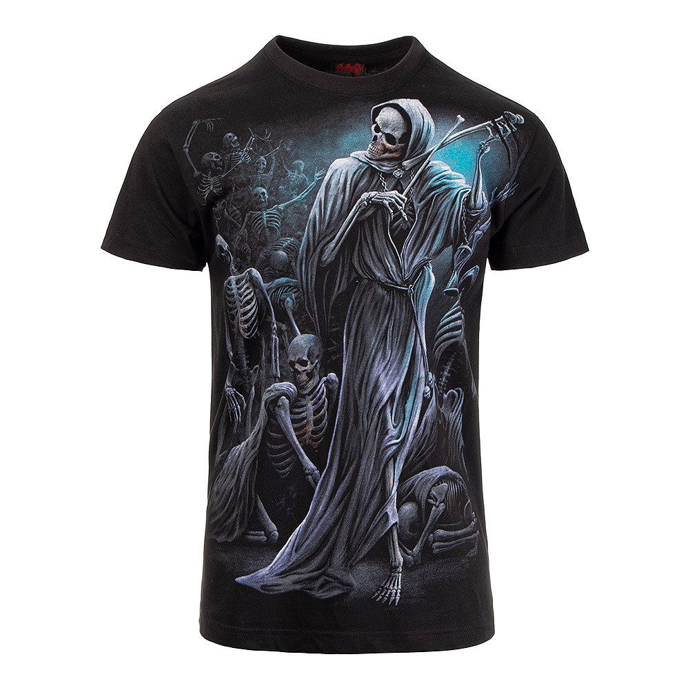 Spiral Direct Dance Of Death T Shirt (Black)