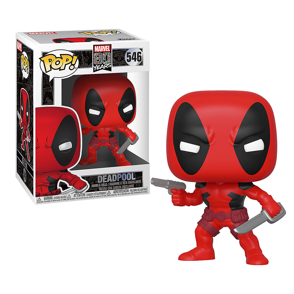 Funko Pop! Marvel Deadpool 80th Anniversary Vinyl Figure