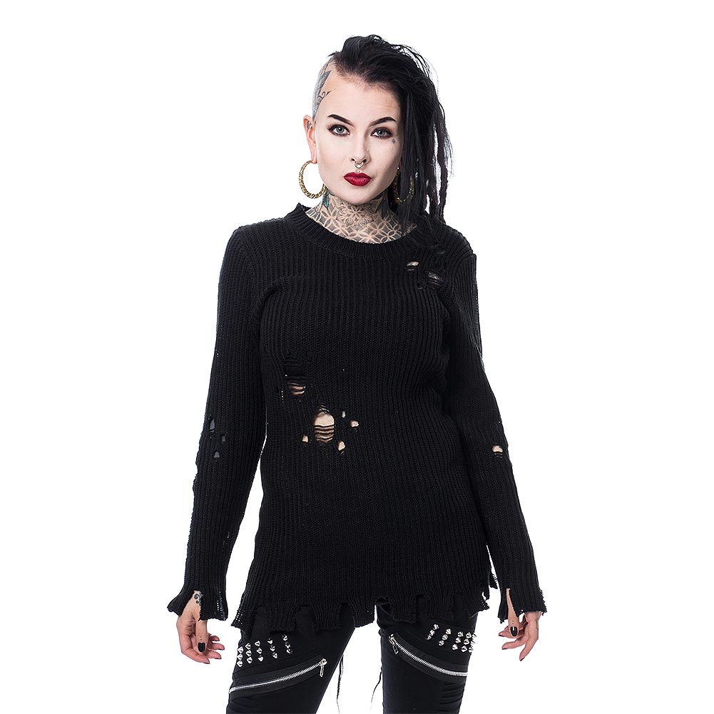 Poizen Industries Alora Top (Black)