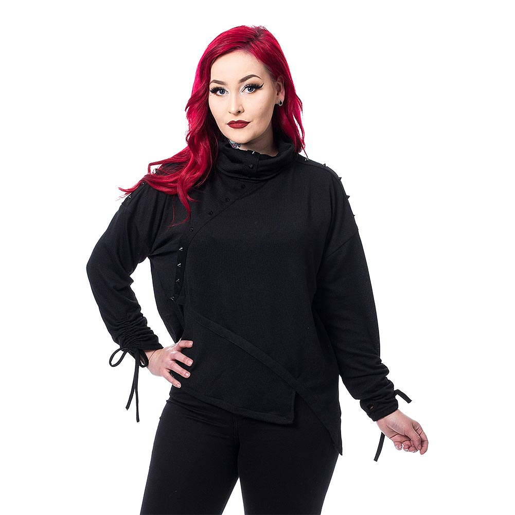 Poizen Industries Cleo Top (Black)