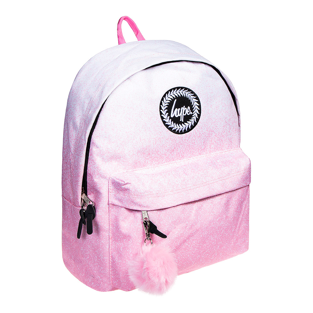 Hype Speckle Fade Backpack (PinkWhite)