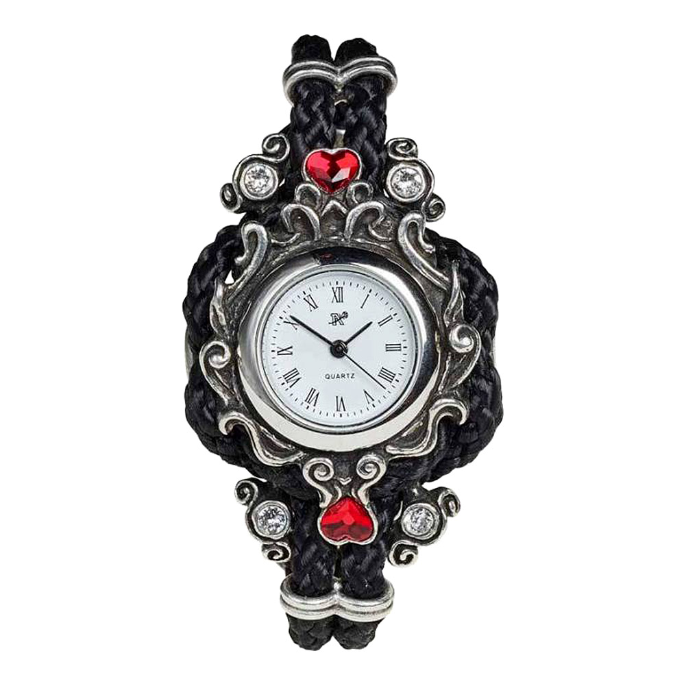 Alchemy Gothic Affiance Wristwatch (Black)